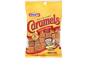 Kraft Caramels Original 9.5Oz Bag