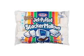 Jet-Puffed Stackermallows Everyday Marshmallows 8Oz Bag