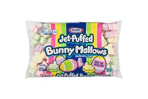 Jet-Puffed Marshmallow Shapes