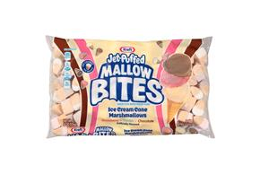 Jet-Puffed Mallow Bites Ice Cream Cone Flavored Marshmallows 8Oz Bag