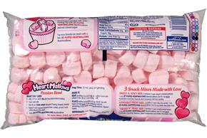 Jet-Puffed Heartmallows Strawberry Seasonal Marshmallows 14Oz Bag
