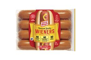 Oscar Mayer Uncured Jumbo Wieners 16 Oz Pack (8 Ct)