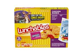 OSCAR MAYER LUNCHABLES Chicken Dunks w/CAPRI SUN 9.8 OZ BOX