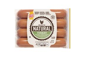 Oscar Mayer Selects Turkey Franks 16Oz Pack