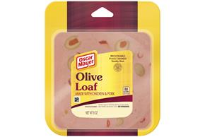 OSCAR MAYER Olive Loaf 8oz Pack
