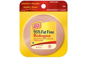 OSCAR MAYER Cold Cuts Fat Free Bologna 8oz Pack