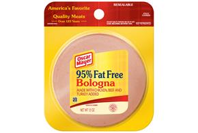 OSCAR MAYER Cold Cuts Fat Free Bologna 12oz Pack