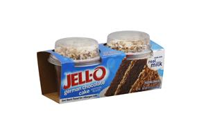 Jell-O Pudding Snacks Mix-Ins German Chocolate Cake