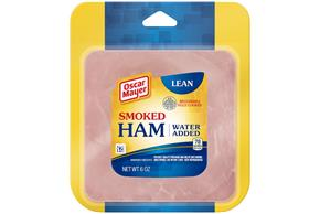 OSCAR MAYER Lean Smoke Cooked Ham 6oz Pack