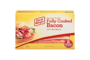 OSCAR MAYER Fully Cooked Bacon Club 9.6oz