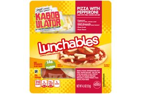 Lunchables Pepperoni Pizza 4.3 Oz Tray
