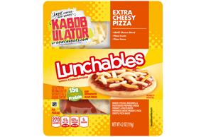LUNCHABLES Cheese Pizza 4.2 OZ Tray