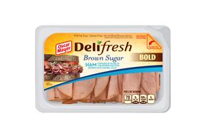 OSCAR MAYER Deli Fresh Brown Sugar Ham 8oz Tub