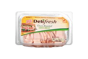 OSCAR MAYER Deli Shaved Oven Roasted Turkey Breast 9oz Tub