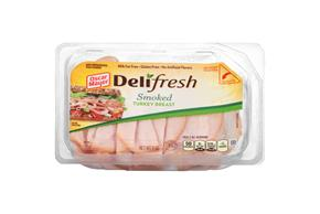 Oscar Mayer Deli Style Smoked Turkey Breast 9Oz Tub
