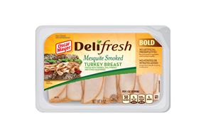 OSCAR MAYER Deli Fresh Mesquite Smoked Turkey Breast 8oz Tub