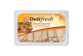 OSCAR MAYER Deli Fresh Rotisserie Style Chicken Breast 9oz Tub