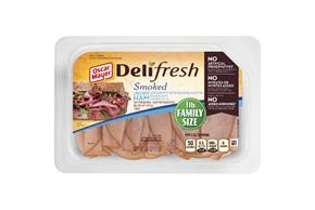 Oscar Mayer Deli Fresh Smoked Uncured Ham 16Oz