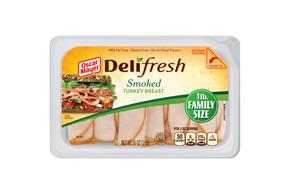 Oscar Mayer Deli Fresh Smoked Turkey Breast 16Oz