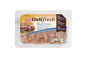 OSCAR MAYER Deli Fresh Black Forest Ham 9oz Tub