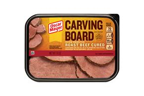 OSCAR MAYER Carving Board Slow Roasted Roast Beef 7oz Tub