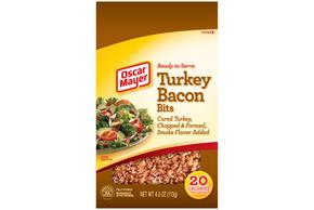 OSCAR MAYER Real Turkey Bacon Bits 4oz Pouch