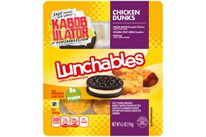 OSCAR MAYER LUNCHABLES Chicken Dunks 4.2 OZ Tray