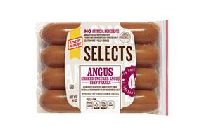 Oscar Mayer Selects Angus Beef Franks 14 Oz Pack