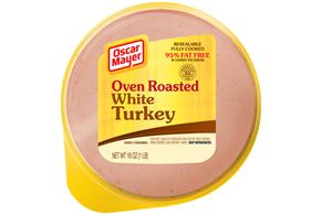 Oscar Mayer Oven Roasted White Turkey 16Oz