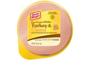 Oscar Mayer Oven Roasted White Turkey And Cheese 16Oz Pack