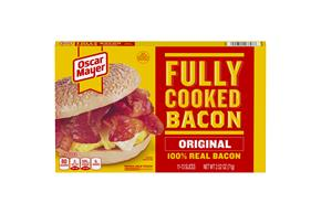 Oscar Mayer Original Fully Cooked Bacon 2.52Oz Box