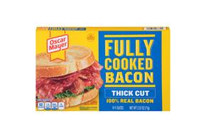 OSCAR MAYER Thick Cut Fully Cooked Bacon 2.52oz BOX