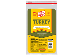 Oscar Mayer Turkey Franks 20 Ct Pack