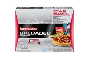 LUNCHABLES CONVENIENCE MEALS-SINGLE SERVE PIZZA-PEPPERONI 14.7 OZ BOX