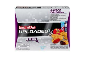 LUNCHABLES CONVENIENCE MEALS-SINGLE SERVE CHICKEN NUGGETS WITH BBQ SAUCE 15.6 OZ BOX
