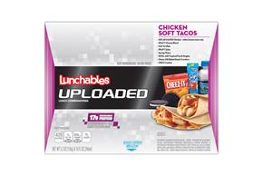 Oscar Mayer Lunchables Uploaded Chicken Soft Tacos 5.3 oz. Tray with 10 fl. oz. Spring Water