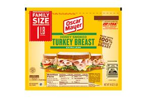 OSCAR MAYER Cold Cuts Honey Smoked Turkey 16oz Pack