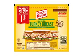 OSCAR MAYER Cold Cuts Smoked Turkey Breast 16oz Pack