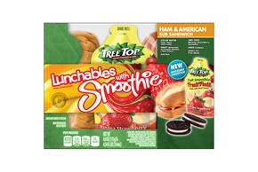 Oscar Mayer Lunchables Ham & American Sub Lunch Combo W/ Smoothie