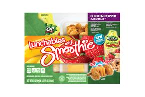 Oscar Mayer Lunchables Chicken Popper Kabobbles(Tm) Lunch Combination 3.5 Oz. Tray With Chiquita(R)