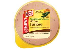 OSCAR MAYER Jalapeno & Cheese White Turkey 16oz Pack