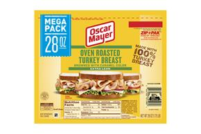 OSCAR MAYER Cold Cuts Oven Roasted Turkey 28oz Pack