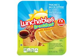 Oscar Mayer Lunchables Breakfast Pancake & Bacon Dippers Lunch Combination 2.8 oz. Tray