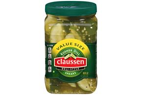 CLAUSSEN Kosher Dill Spears Pickles 80 oz. Value Size