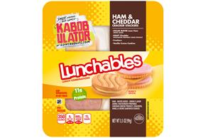 Lunchables Convenience Meals Ham And Cheddar W/ Vanilla Creme Cookie 3.5 Oz Tray