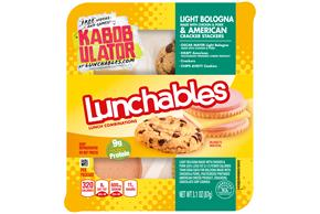 Lunchables Cracker Stacker Bolog/Amer/Chps Ahy 3.1 Oz Tray