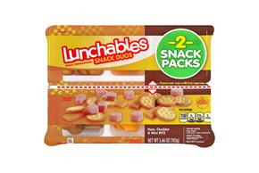 Oscar Mayer Lunchables Jr Ham/Ched/Mini Ritz 3.66 Tray