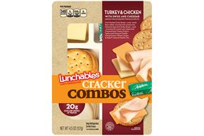 OSCAR MAYER Convenience Meals-Single Serve Turkey and Chicken 4.5oz Tray