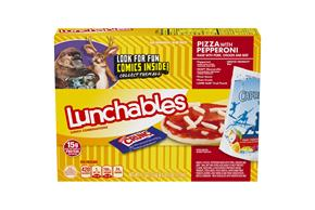OSCAR MAYER LUNCHABLES Pepperoni Pizza 10.7 OZ BOX