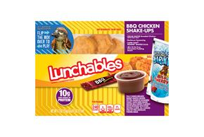 OSCAR MAYER LUNCHABLES BBQ Chicken Shake-Ups 10.7 OZ BOX